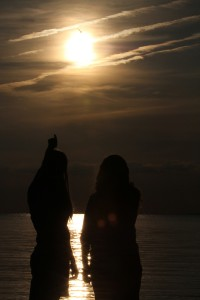 venus_sun_eclipse_glasses_gazing_bird_point_pelee_west_beach